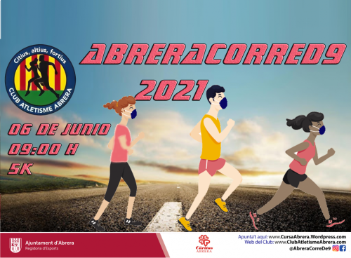 Cartell Abrera Corre D9 2021